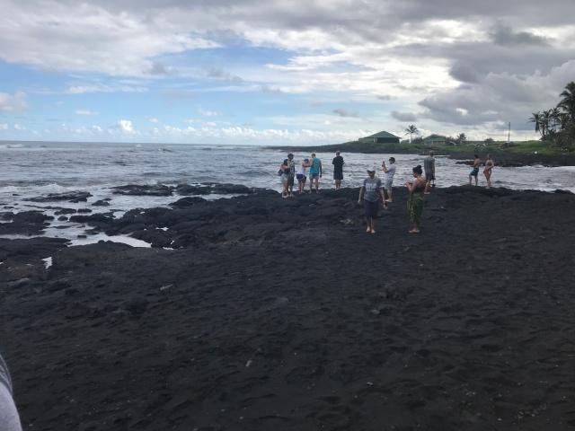 Black Sand Beach 1
